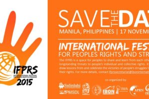 SAVE THE DATE: IFPRS 2015 set on Nov 17