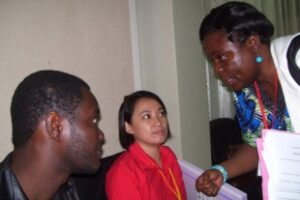 IBON/RoA country outreach meets with African CSOs