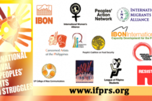International Festival for People's Rights and Struggles (IFPRS) Website launching