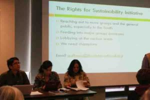 Global Civil Society Workshop on the Rio+20 Zero Draft and Rights for Sustainability