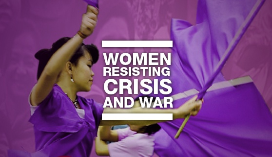 Women Resisting Crisis and War book launch