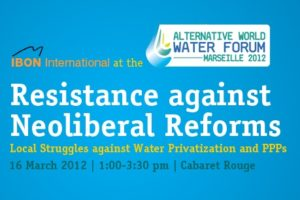 Resistance against Neoliberal Reforms: Local Struggles against Water Privatization and PPPs