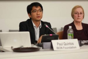 IBON warns vs diluting Rio+20 draft: 'Don't delete our rights, don't bracket our futures!'