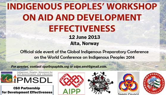 IP groups to tackle aid and dev't effectiveness in Norway workshop