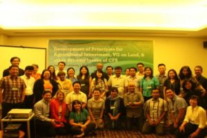 PCFS spearheads SEA consultation on agricultural investment