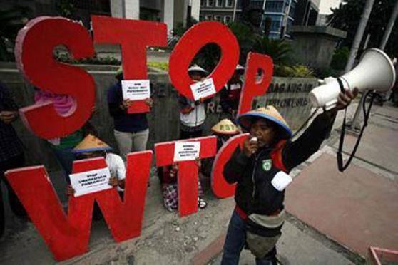 Indonesian peasants slam land grabs, WTO