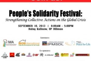 Save the Date: People's Solidarity Festival