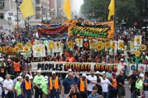 400,000-strong People's Climate March on eve of summit