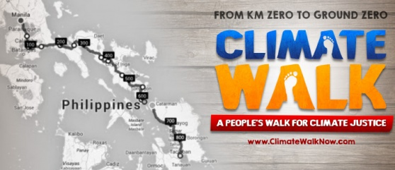 IBON International supports Climate Walk, urges more mass actions for climate justice
