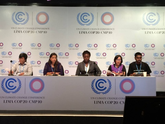 Most vulnerable communities send strong message to COP 20