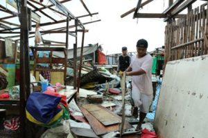 Appeal for aid to the Hagupit-ravaged areas in the Philippines
