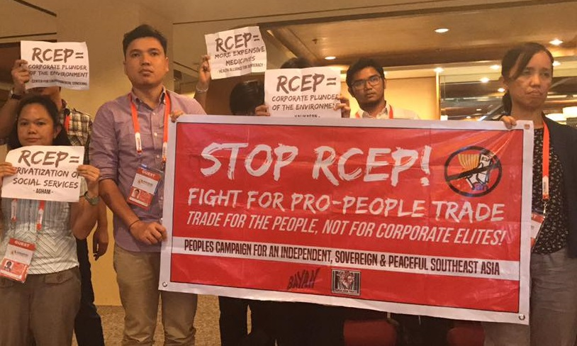 RCEP legitimacy in question: trade deal in behalf of the people, without the people?