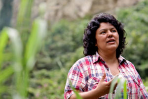 Internationally-Recognized Environmental Activist Berta Cáceres Martyred