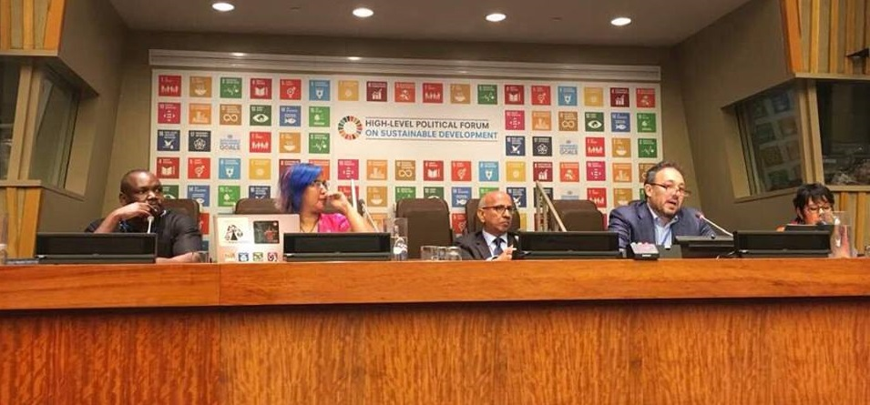 "HLPF 2018: Where's people's development in the ""transformation to sustainable and resilient societies""?"