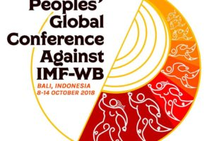 Int'l, Indonesian movements to resist IMF-WB Annual Meetings, corporatization of dev't