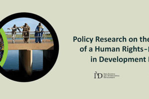 New report reveals development partnerships for SDGs still weak in human rights-based approaches