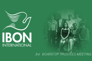 IBON International Foundation: Board of Trustees Meeting