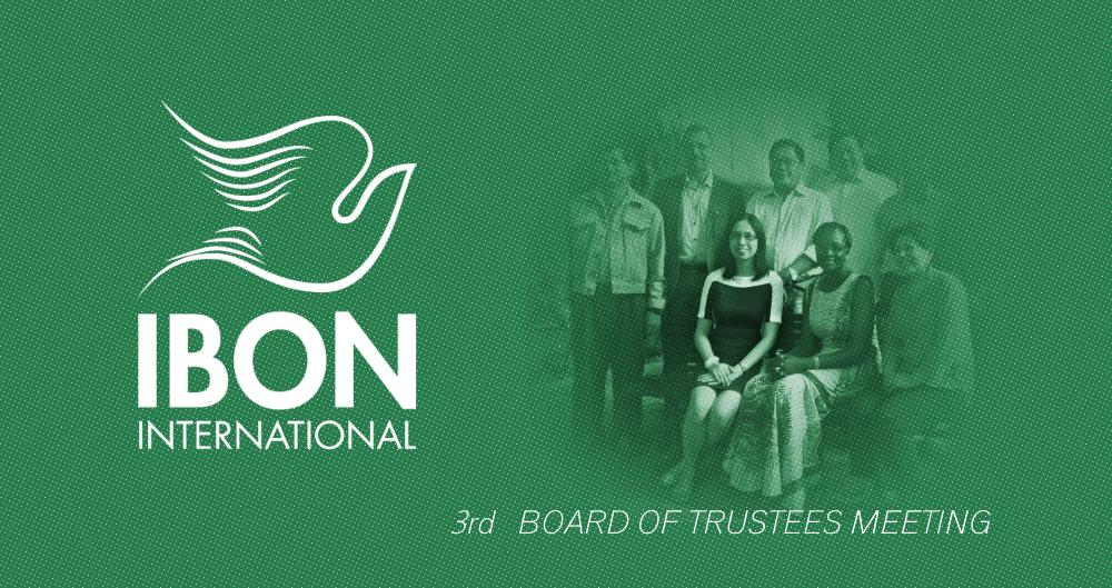 IBON International Foundation: Board of Trustees Meeting