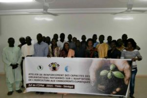 IBON CJ partners in Senegal hold successful training on agriculture and climate change adaptation