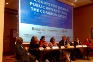 Dialogues for justice, public interest and the common good: CPDE side event at the UN Summit