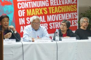 Manila study conference looks at Marx's legacy to social movements