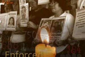 Enforced Disappearances: An Act of Terror (July-August 2007)