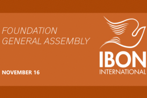 IBON International Foundation: General Assembly