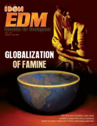 Globalization of Famine (September-October 2009)