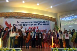 International Conference for Peoples' Rights in the Philippines 2016: Fight for Peoples' Rights