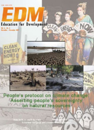 People's protocol on climate change: Asserting people's sovereignty on natural resources (November-December 2007)