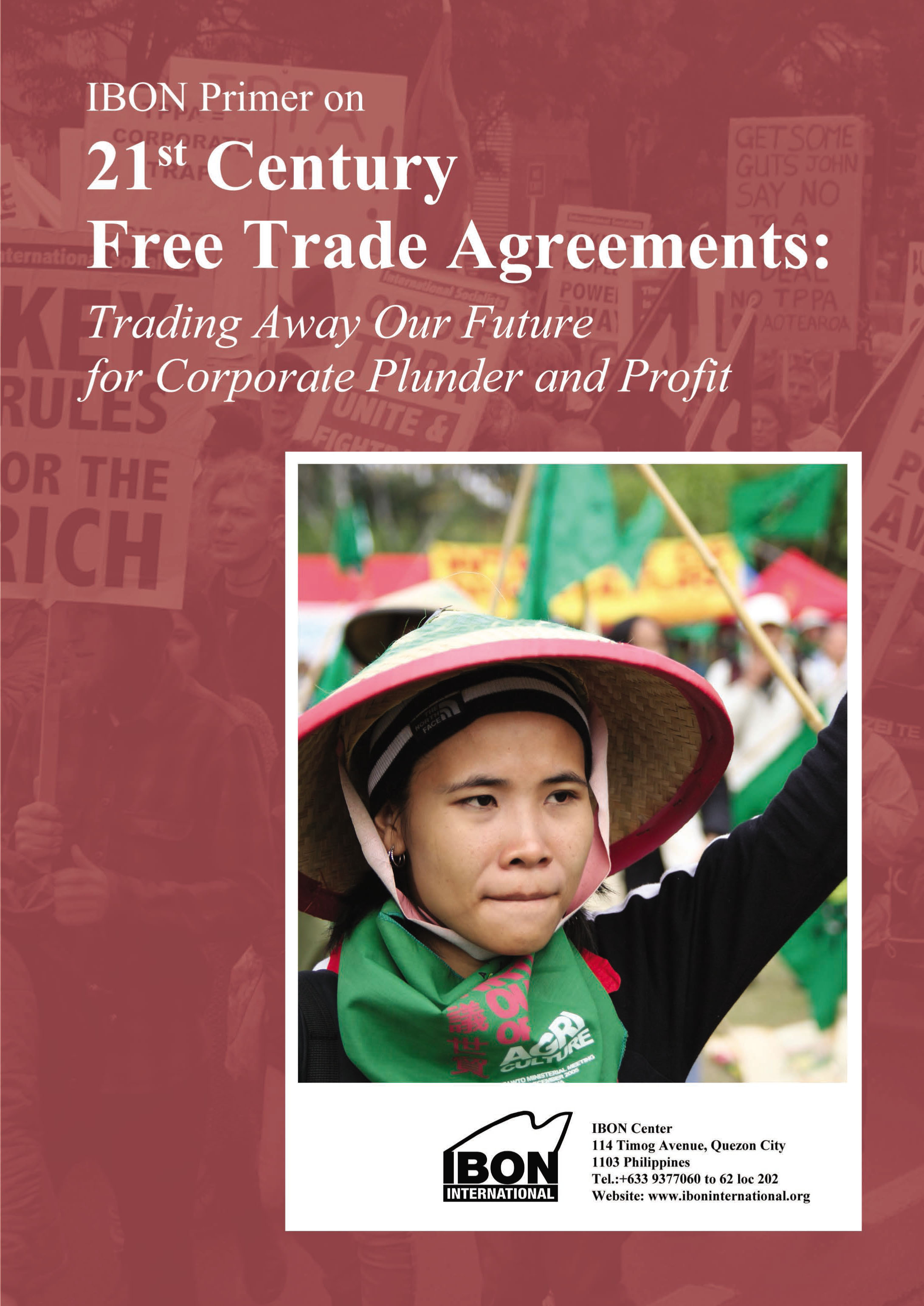 IBON Primer on 21st Century Free Trade Agreements