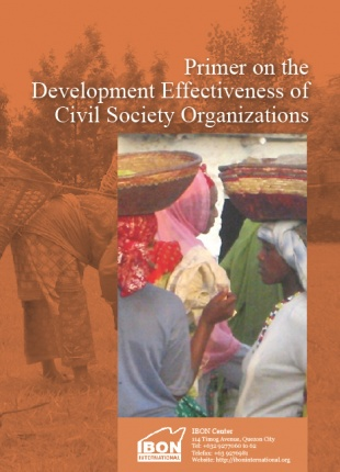 Primer on the Development Effectiveness of Civil Society Organizations