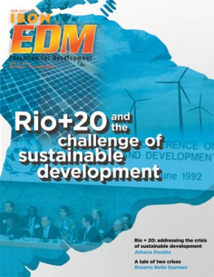 RIO+20 and the challenge of sustainable development (November-December 2010)