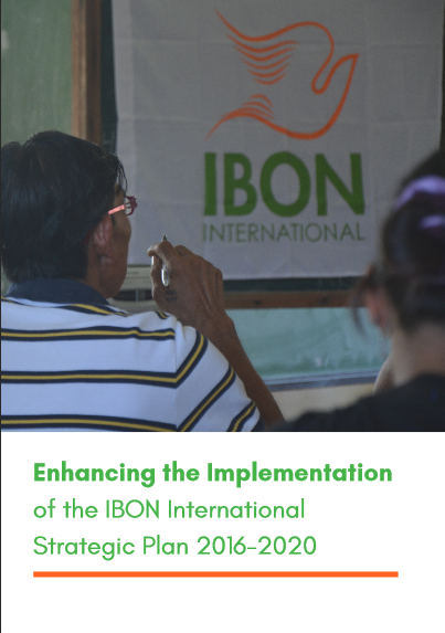 Enhancing the Implementation of the IBON International Strategic Plan 2016-2020