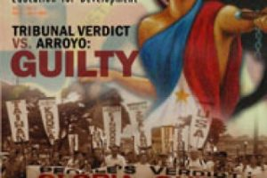 Tribunal verdict vs. Arroyo: GUILTY (March-April 2007)