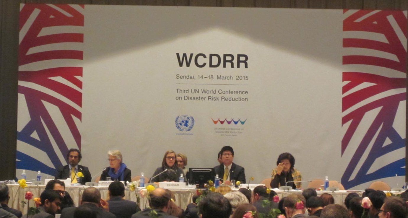 Sendai Framework approved at Third WCDRR