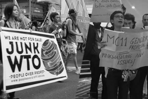 WTO MC11: Keeping the people out, big business in