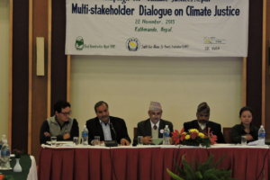 Multi-Stakeholder Dialogue on Climate Justice Held