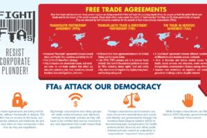 No to FTAs!