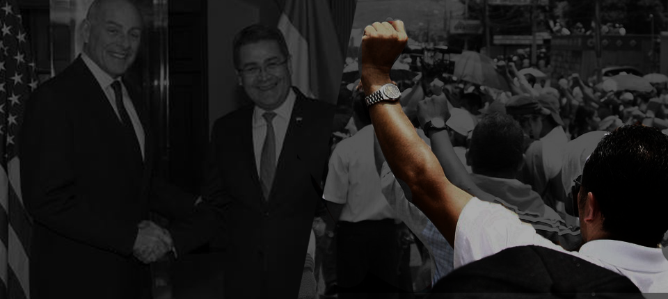 Protests and Police Repression Continue: Hernández sworn in as Honduran President