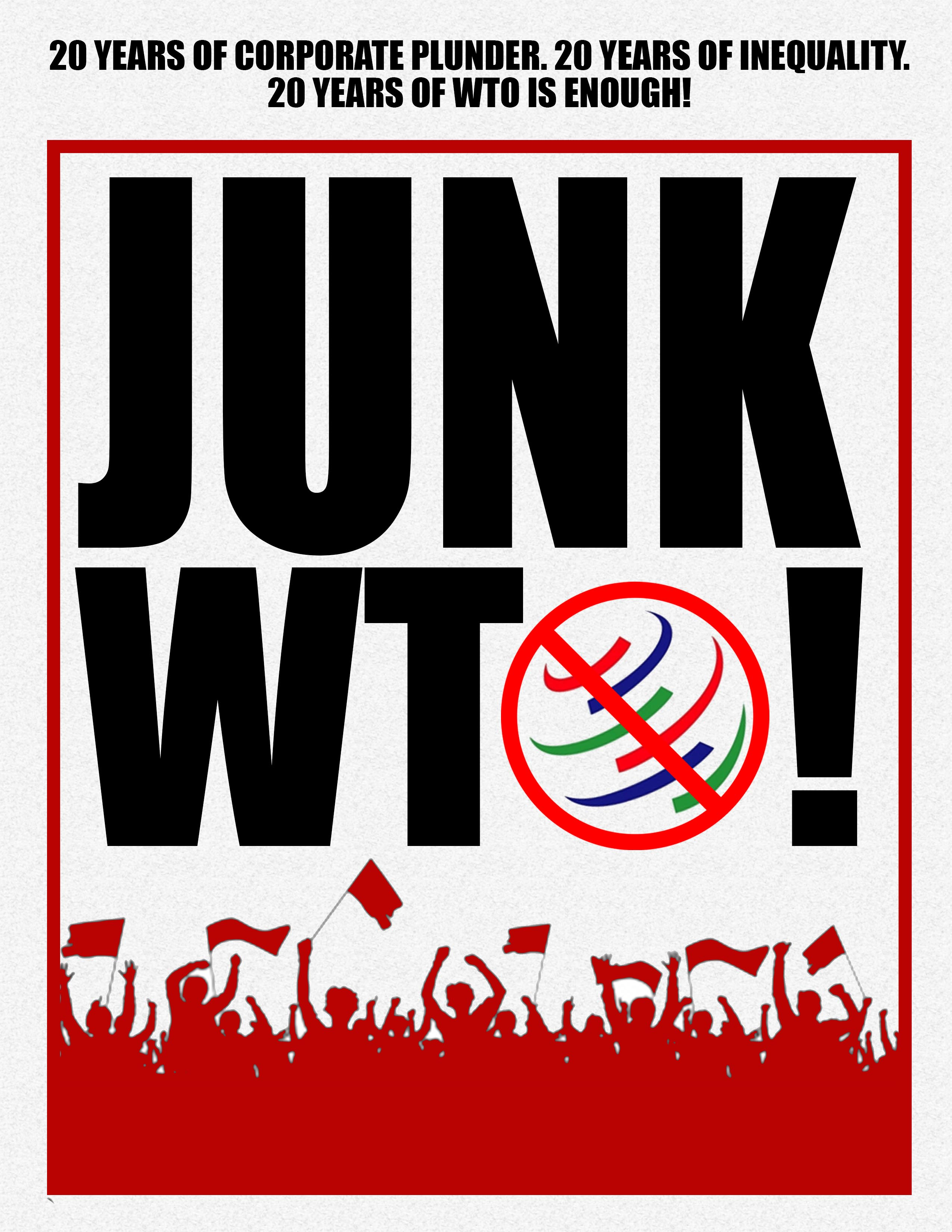 WTO Nairobi Ministerial: 'Permanent solution to Food Security? Junk the WTO!'