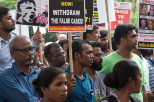 On the recent crackdown on Indian rights defenders and activists