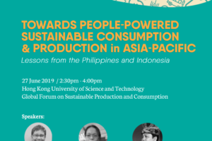 Towards people-powered sustainable consumption and production in Asia-Pacific