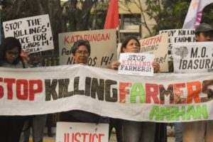 Justice for the farmers, land rights defenders in the global South!