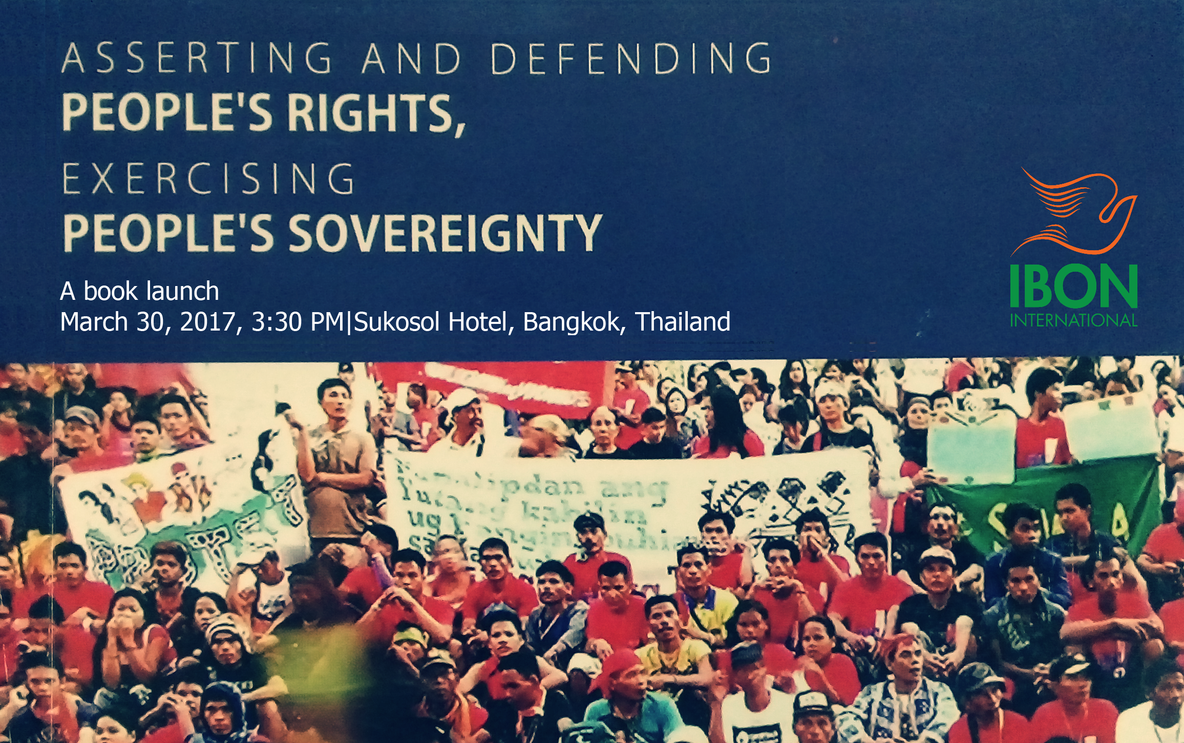Launch of new book on People's Rights and People's Sovereignty