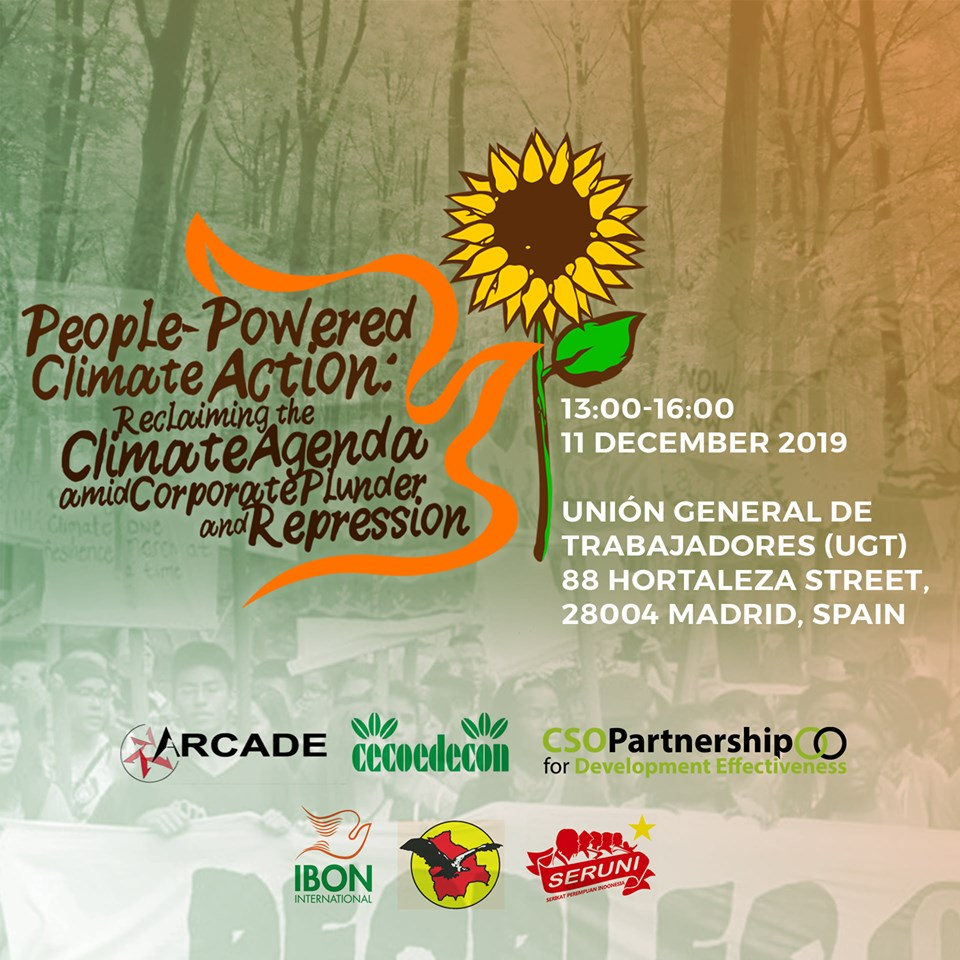 People-Powered Climate Action: Reclaiming the Climate Agenda amid Corporate Plunder and Repression