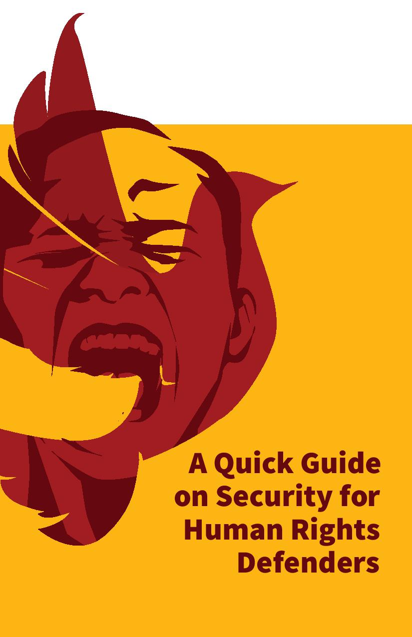 A Quick Guide on Security for Human Rights Defenders