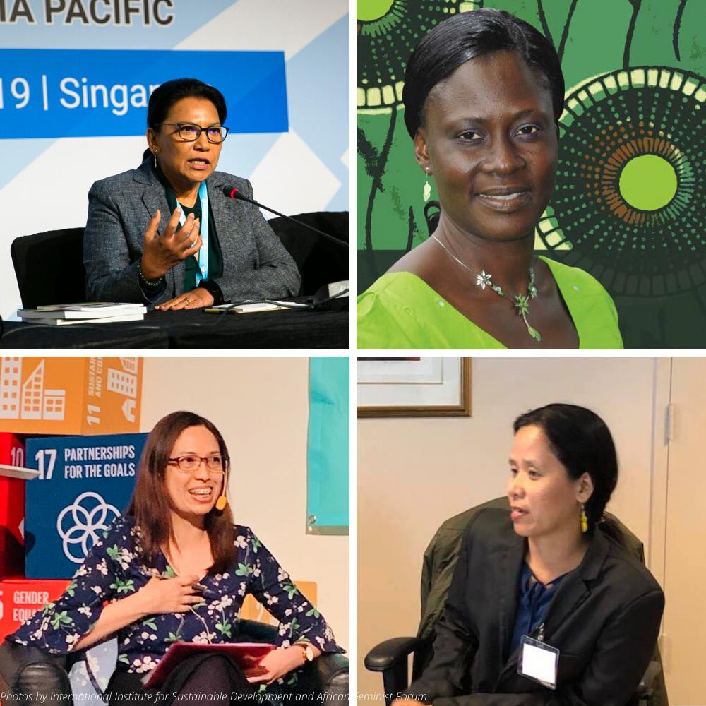 Women lead IBON International
