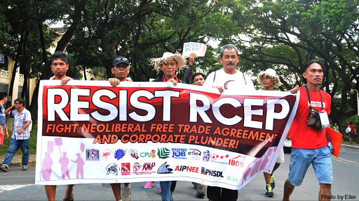 Stop RCEP, WTO, all other neoliberal trade negotiations amidst the COVID-19 pandemic