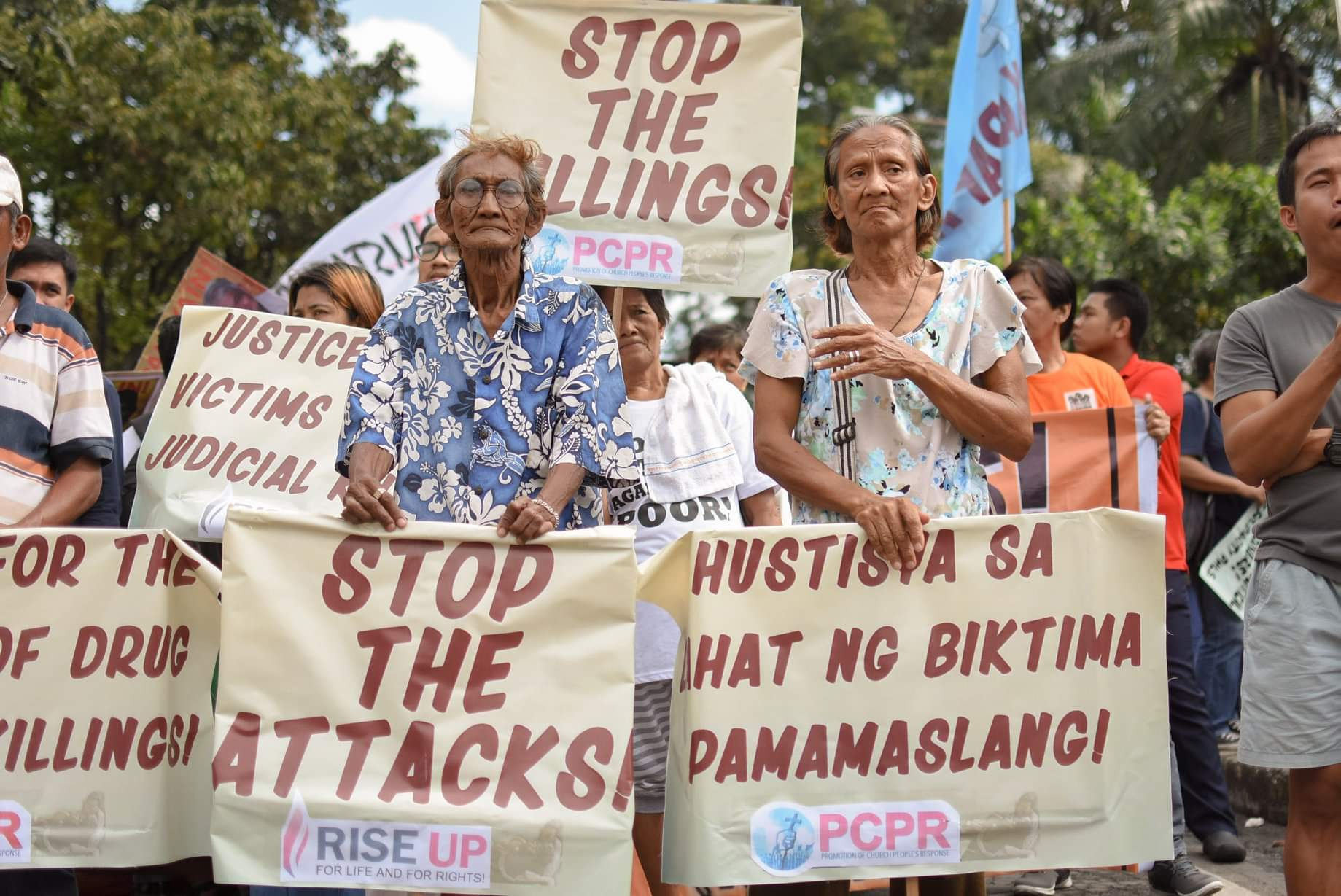 Support the implementation of OHCHR recommendations on Philippine rights situation: Justice for victims of state-sponsored violence